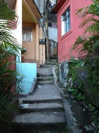 Vidigal Hostel Bar: entrada do hostel