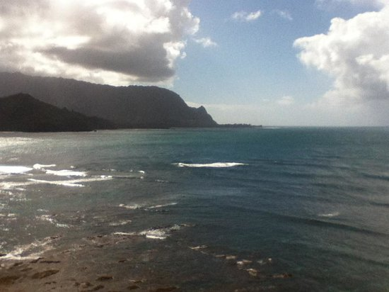 St. Regis Princeville Resort: View from our shower
