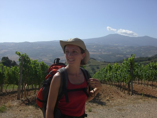 Sara Testi, Tour Guide: Wineyards in Montalcino