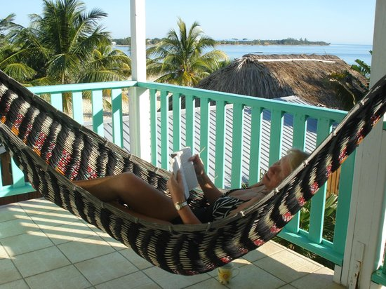 Seaspray Hotel: Private hammock