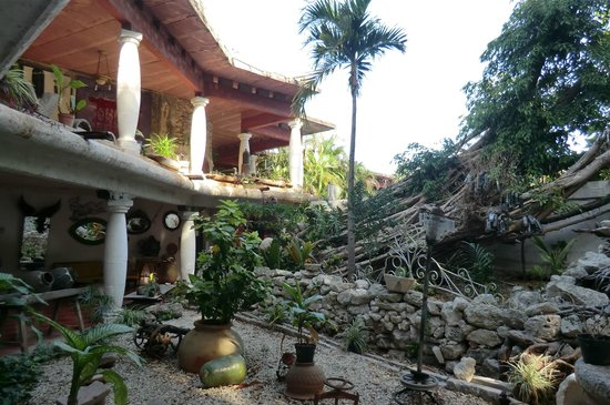 Hotel Trinidad Galeria: Der Innenhof