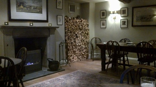 The Plough: Plenty of wood