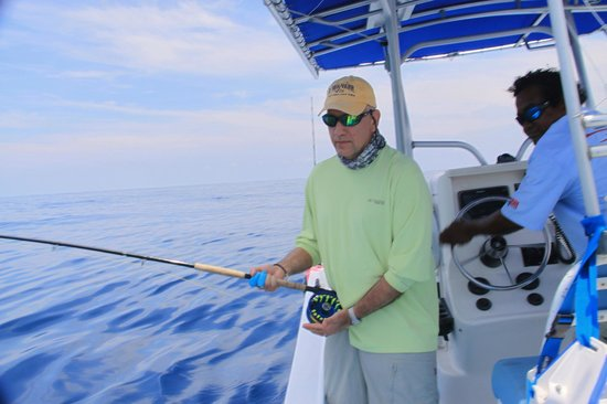 The Zancudo Lodge: Hooked-up to first Sailfish