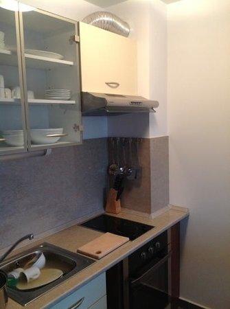 Pirin Residence: kitchen