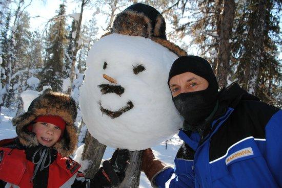 Hotel Jeris: Snow shoe walk