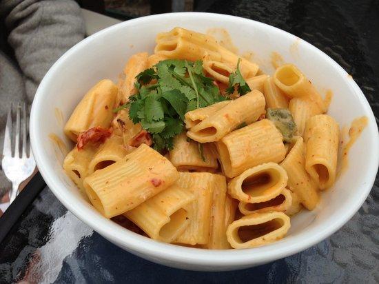 Shells Pasta & Seafood: Rigatoni Pollo