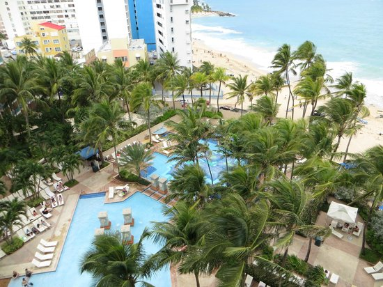 Marriott San Juan Resort & Stellaris Casino: View from our room