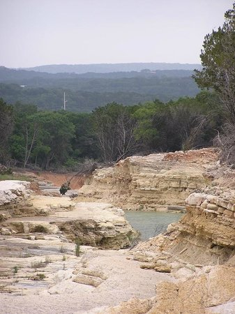Canyon Lake Gorge Tour: Ward's Favorite Photo in the Gorge, view of the TX Hill Country