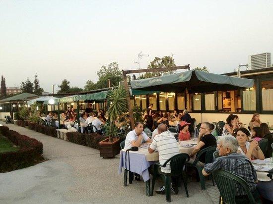 l 39 esterno del ristorante picture of i girasoli rome