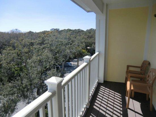 Hampton Inn & Suites Jekyll Island: Blick vom Balkon