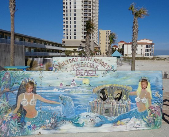 Holiday Inn Resort Pensacola Beach: Fun photo op