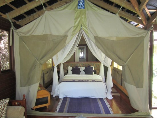 Sarova Mara Game Camp: Our tent