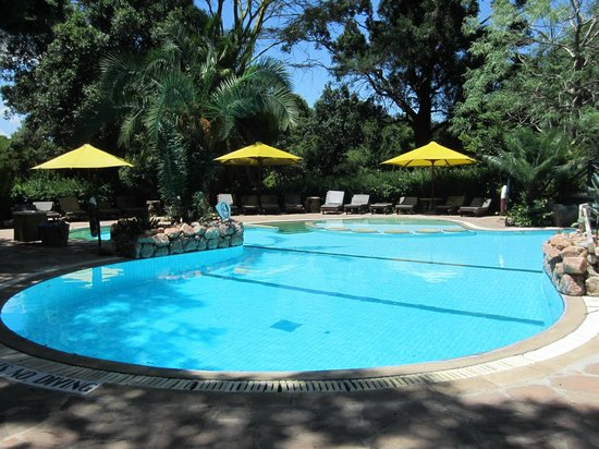 Sarova Mara Game Camp: Pool view