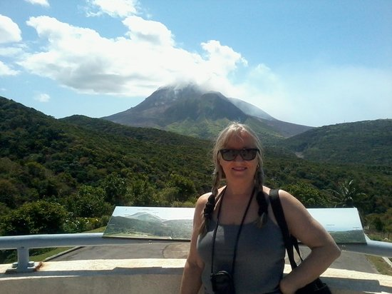 Erindell Villa Guest House: Souffriere Hills Volcano