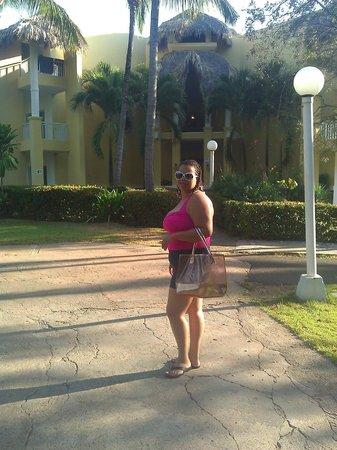 Grand Paradise Samana: Hacia la piscina