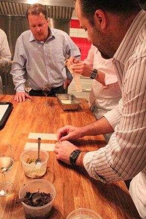 La Guilde Culinaire: Explications du chef Garnier