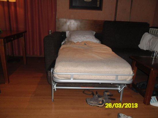 Aparthotel AnyosPark : Vista parcial de la habitación