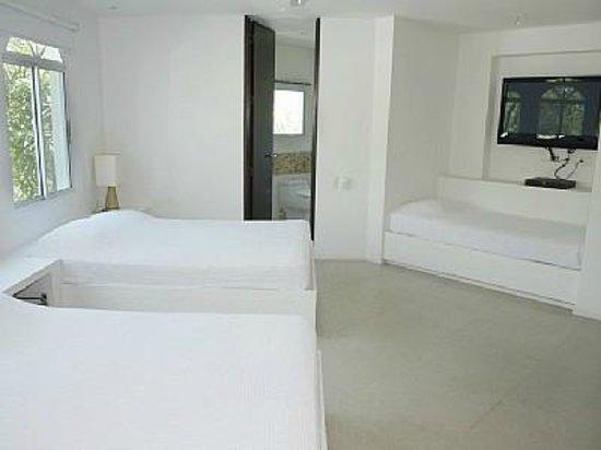 Paisasky: la camera dei ragazzi, penthouse Cartagena
