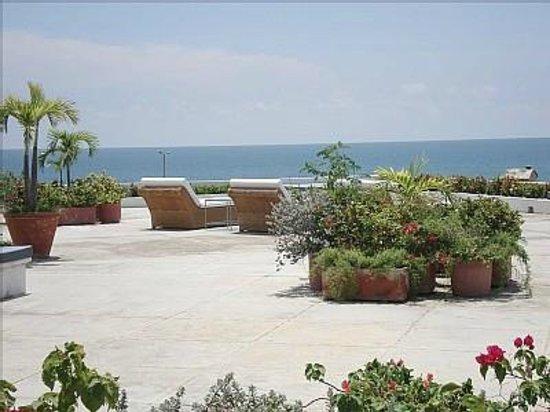 Paisasky: enorme terrazza a Cartagena da dove vedevamo e sentivamo il mare