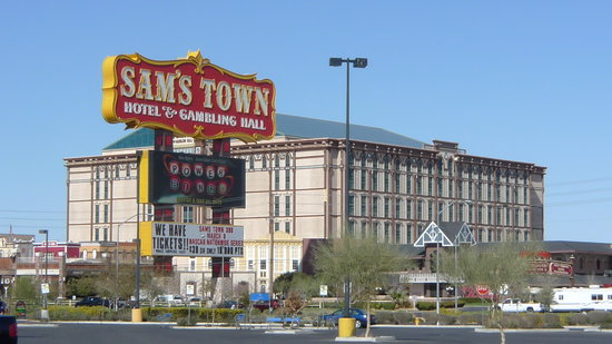 Sam's Town Hotel and Gambling Hall: This Close To Wal-Mart