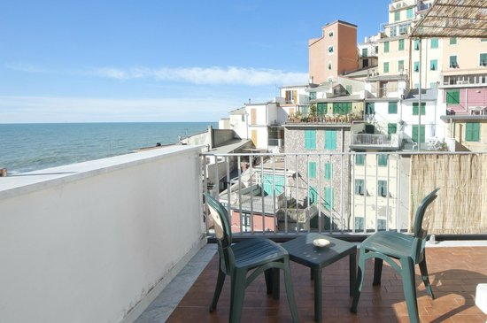Alla Marina : Sea view terrace of the apartment