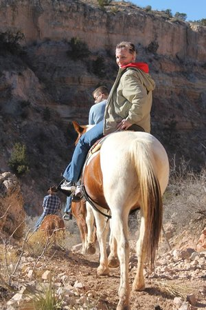 Palo Duro Riding Stables : LINDA WAS NERVOUS AT FIRST BUT HAD A UNFORGETTABLE TIME