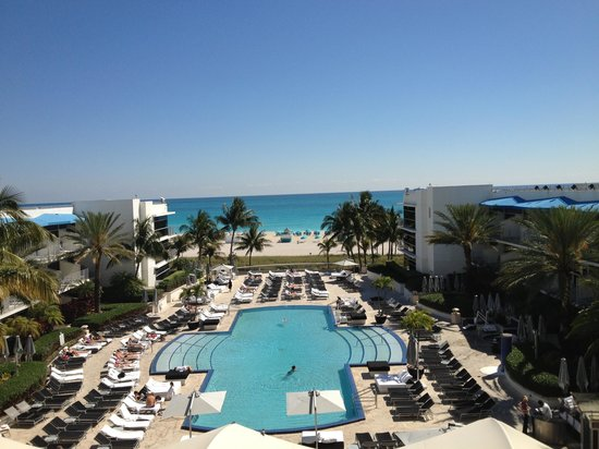 The Ritz-Carlton, South Beach : Wonderful view