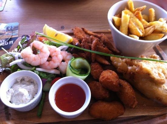 The Lifeboat Inn: amazing food