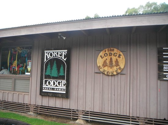 Kokee Lodge Restaurant: logo lodge