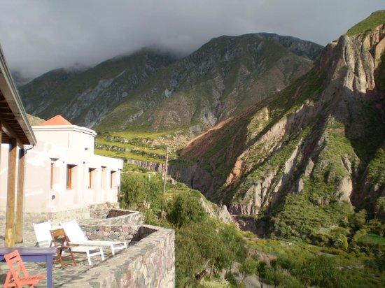 Hotel Iruya: vista desde la terraza