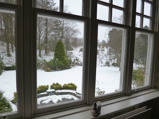 Linthwaite House: View from Room No 6