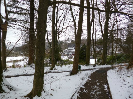 Linthwaite House: Linthwaite in the Snow