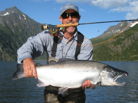 All Alaska Outdoors Lodge: Fly Fishing for Giant Silvers