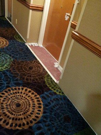 Holiday Inn Express Edgewood-I95: construction