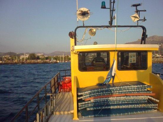 Aquanaut Diving: Top deck on the big boat 2010
