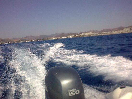 Aquanaut Diving: Turgutreis in the background