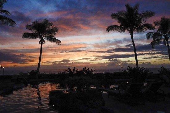 Halii Kai Resort at Waikoloa Beach: Sunset
