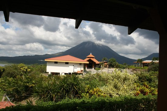 Linda Vista Hotel: Blick aus Zimmer zur Rezeption