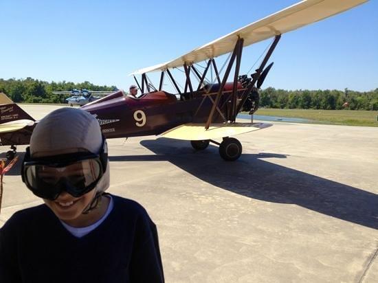 Fantasy of Flight: BiPlane ride