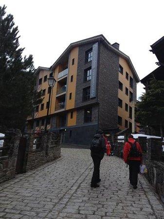 Apartaments Superior-El Tarter: Entrada