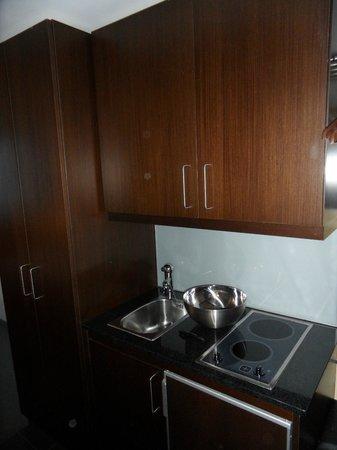 Schiller 5 Hotel: Kitchenete en la habitación