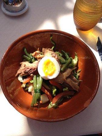 Palais Aziza & Spa: salade nicoise