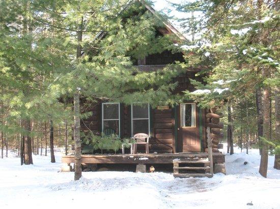 Harmony, ME: Poplar Cabin (sleeps 5-6 people)