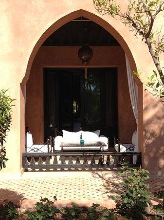 Palais Aziza & Spa: terras bij de kamer