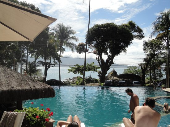 Porto Pacuiba Hotel: Vista da piscina