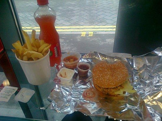 Best Halal Burger In The Midlands Chicago Gourmet Burger Company Birmingham Traveller Reviews Tripadvisor