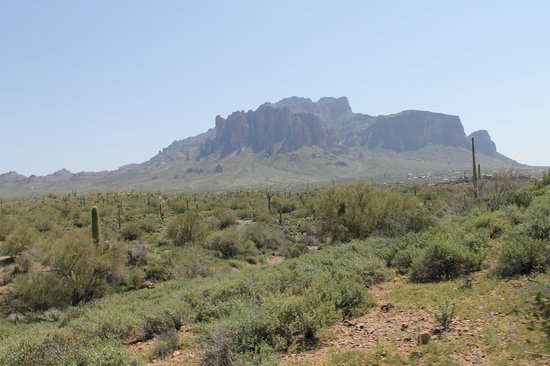 Apache Trail Tours: Another view of our view of the area.
