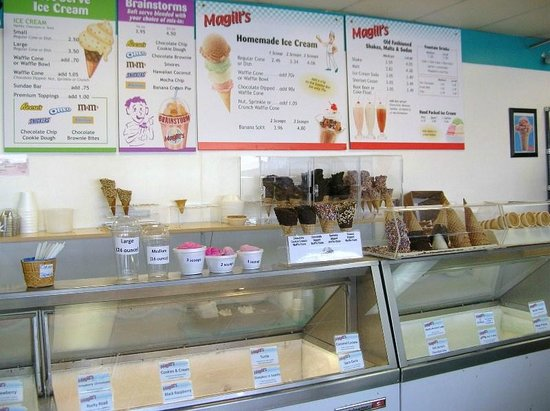 Magill's World of Ice Cream: Ice Creams & Shakes