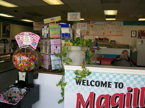 Magill's World of Ice Cream: Store Inside