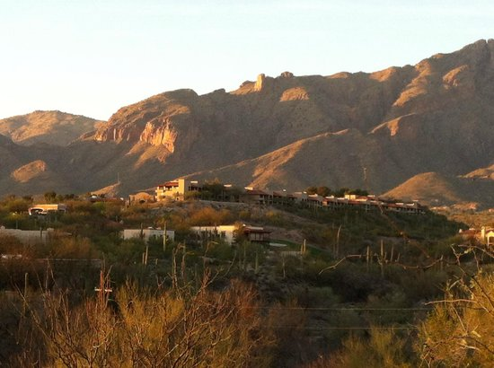 Westin La Paloma Resort and Spa: Hotel view from the horse ride
